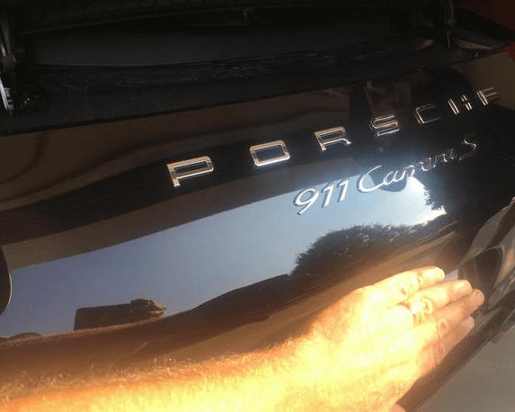 mobile dent removal Porsche 911